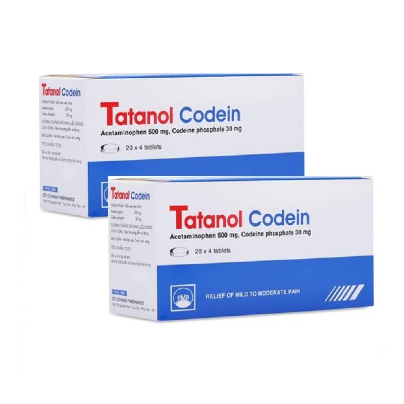 Tatanol codein