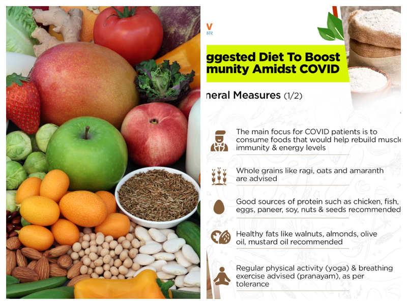 Foods that help increase resistance to corona virus disease