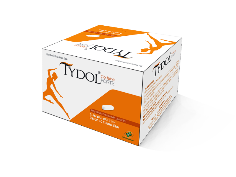 1 box tydol code ine forte 30mg code ine quick pain relief 100 tablets exp 2024