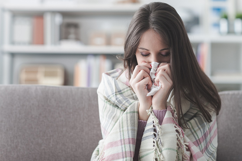 how to care for someone with the flu 1